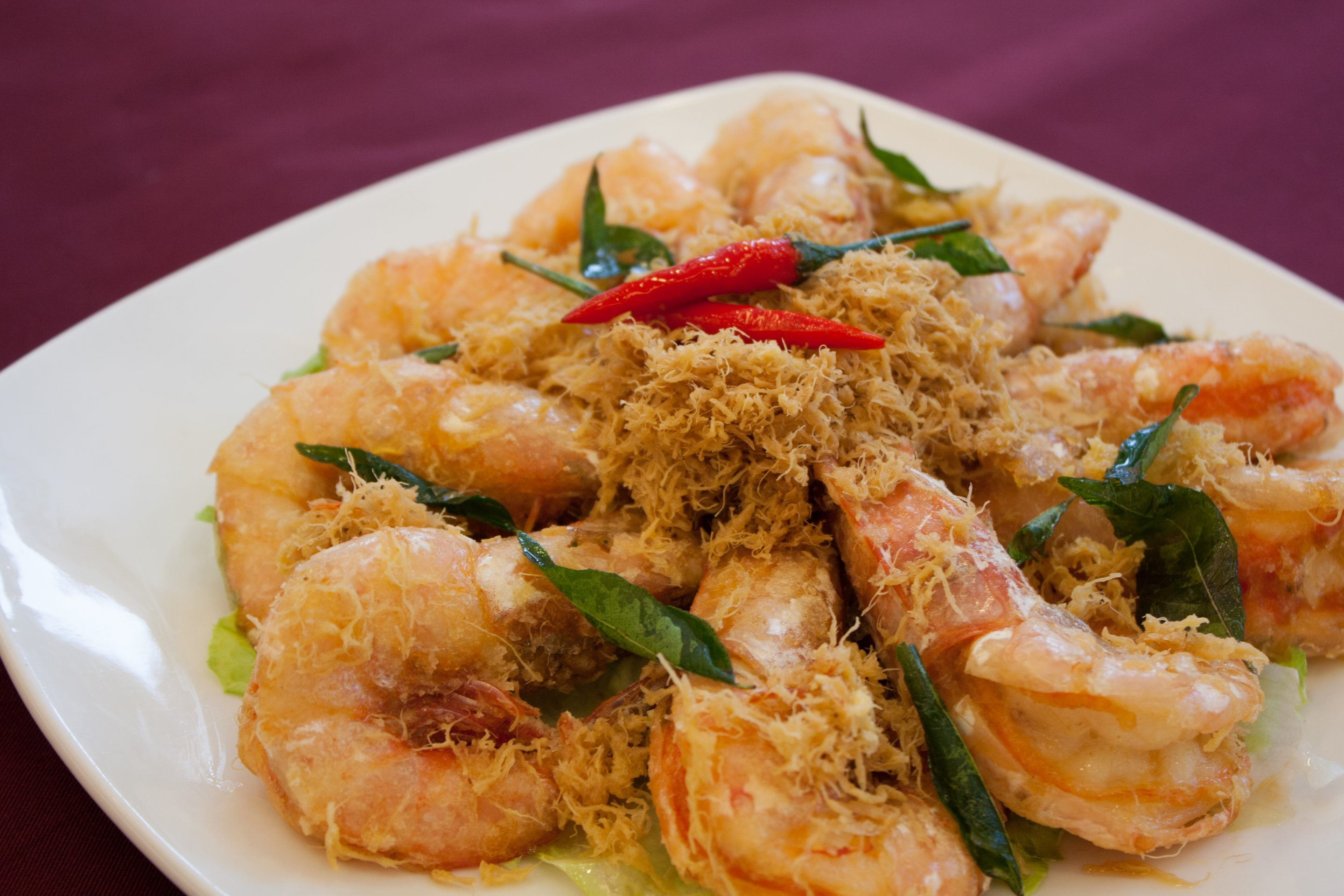 Chinese Set-Golden Prawns