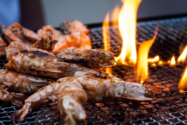 Group BBQ Dinner - Prawns