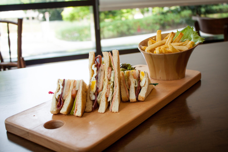 The White Olive - Club Sandwich