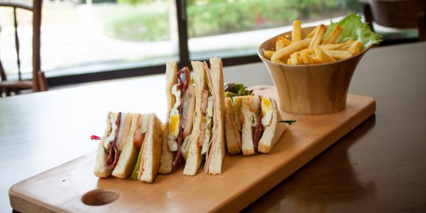 The White Olive - Club Sandwich